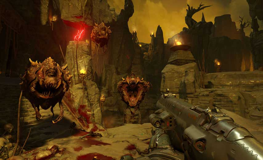 New Doom Game Looks Absolutely Incredible