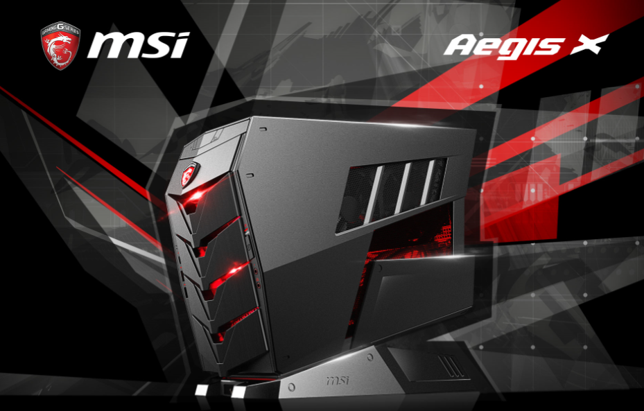 PR: MSI AEGIS, the World's Fiercest Mobile Gaming Barebone PC Series Now Available