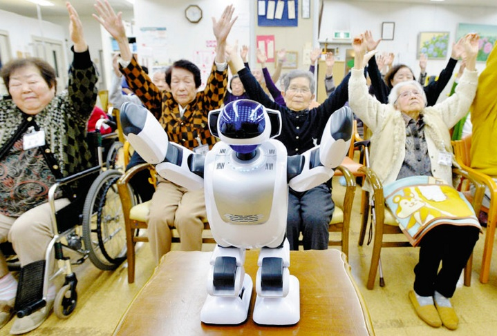 Taking Care of the Aging: Robots, Artificial Intelligence Step In
