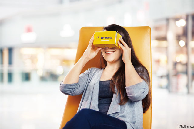 Lufthansa Testing In-Flight Virtual Reality Experience for Passengers