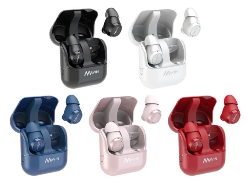 Wireless Audio – Mavin's Air-X Earbuds Offer up 10 Hours Playtime on Single Charge